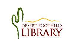 desert foothills library logo