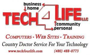 tech four life computers websites training