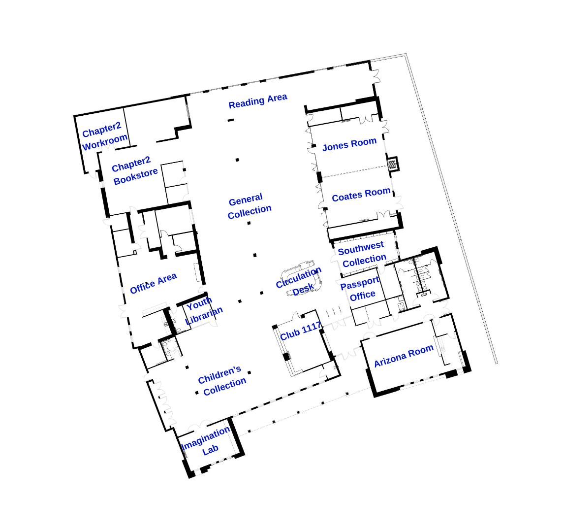 library layout map