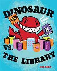 dinosaur vs the library