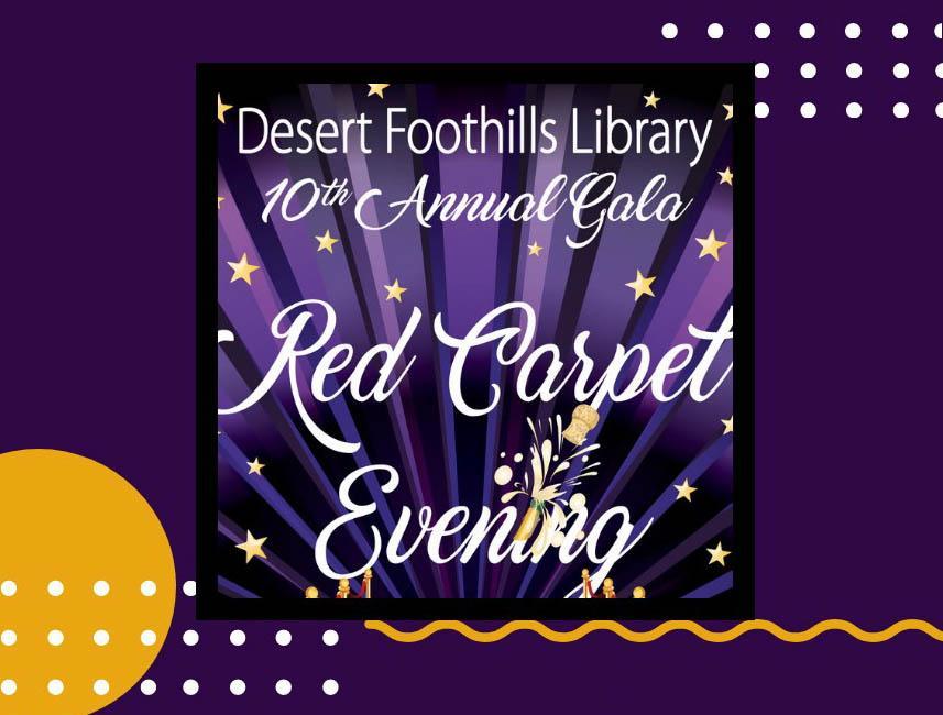 red carpet gala poster art