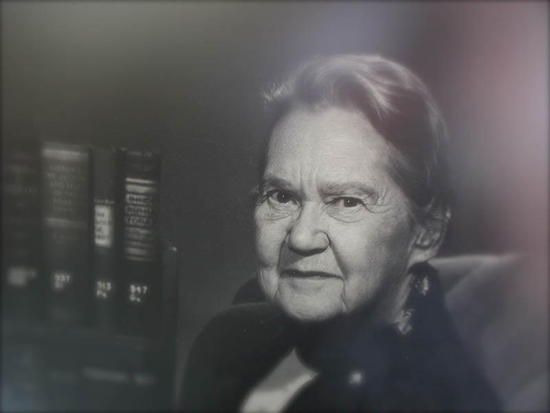 Dorothy Smith - first library director - 1950s