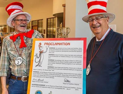 March 2nd, 2019 is Dr. Seuss Day at Desert Foothills Library
