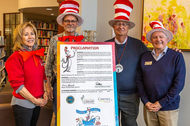 dr seuss proclamation with mayors