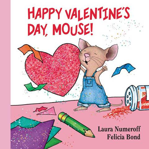 happy valentine's day mouse book cover