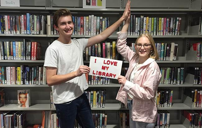 teens love library