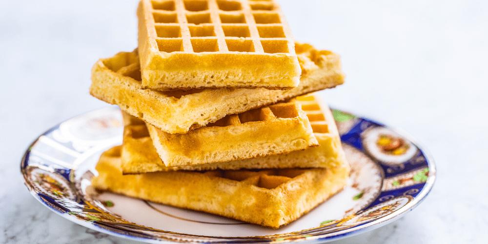 Stranger things waffle stack