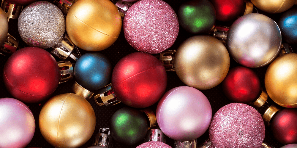 christmas ball ornaments