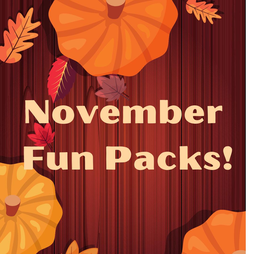 November Family Fun Packs