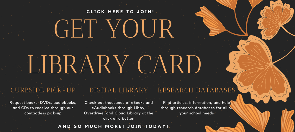 get your library card here