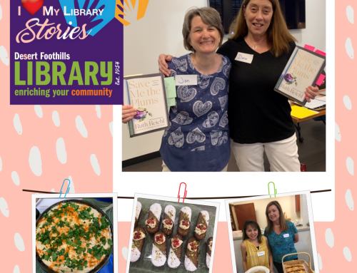 I Love My Library STORIES: Literate Foodies