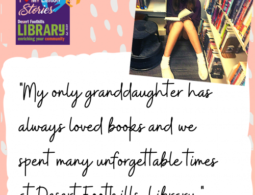 Love My Library STORIES: My Granddaughter
