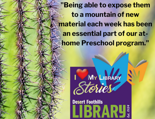 I Love My Library STORIES: We read more than ever