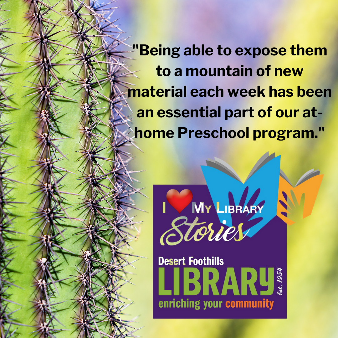 quoted text from post with Love My Library Stories Logo