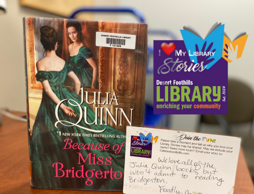 I Love My Library STORIES: Fondly, Anonymous